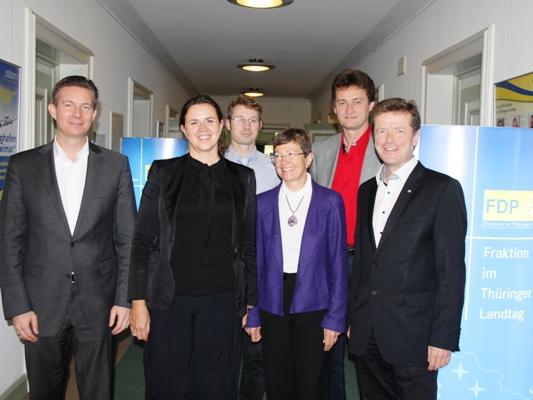 50Hertz und Fraunhofer zu Gast bei der FDP