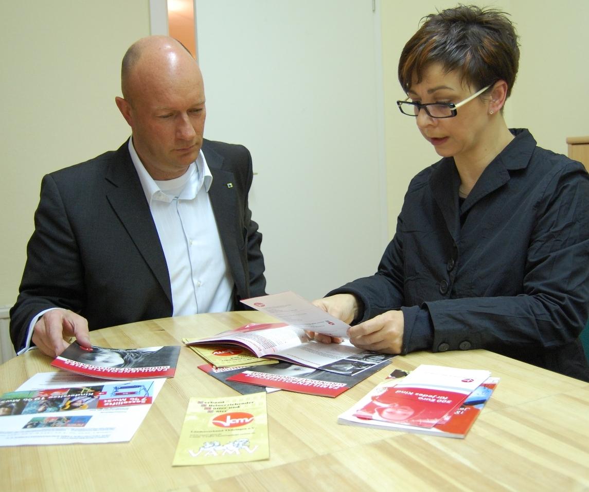 im Gespräch mit Viola Schirneck (VAMV)