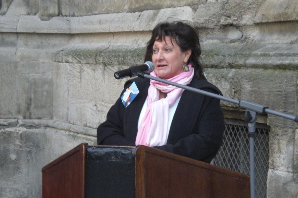 Birgit Schuster: Laudatorin der FDP-Fraktion