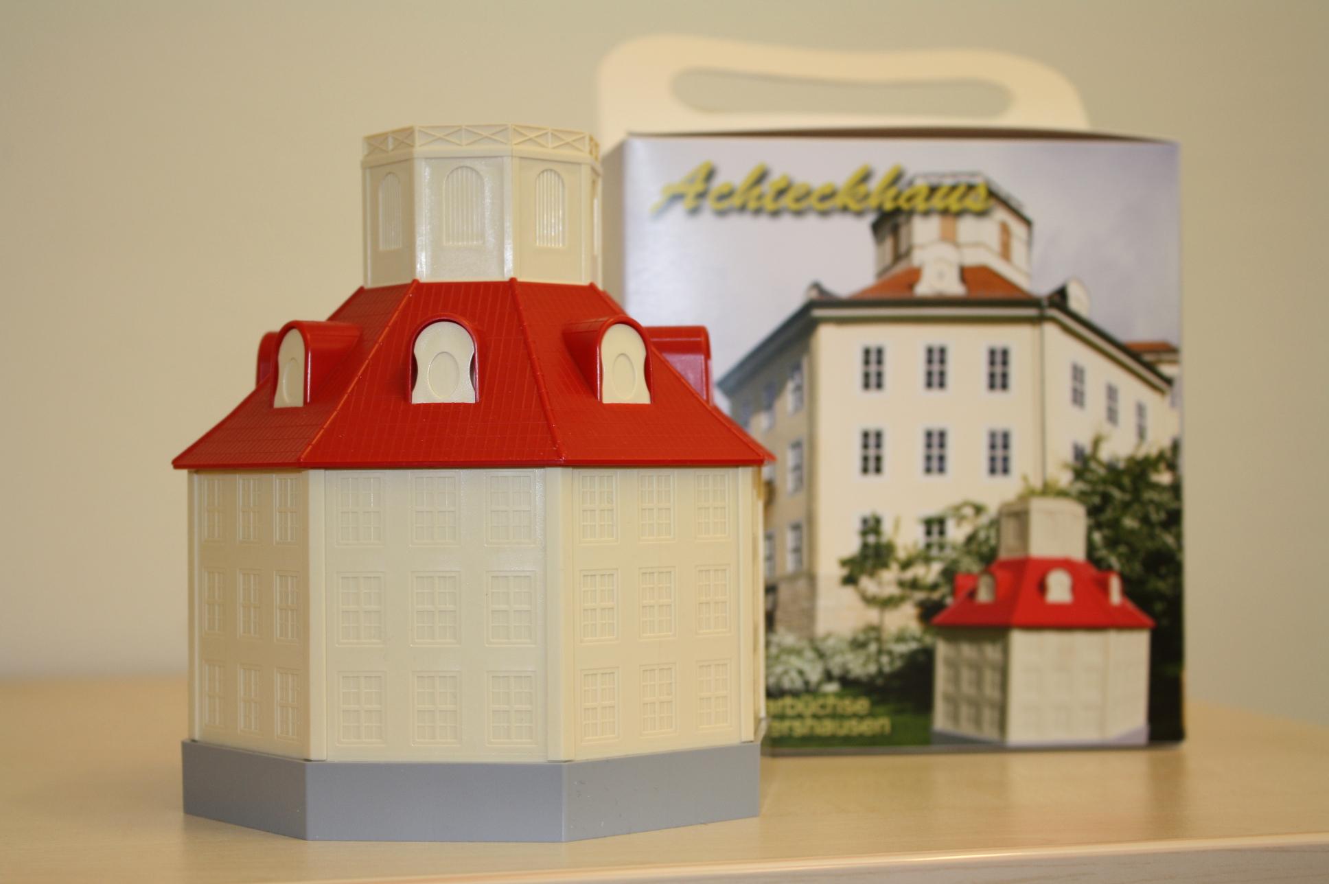 Achteckhaus - die Spardose aus Sondershausen