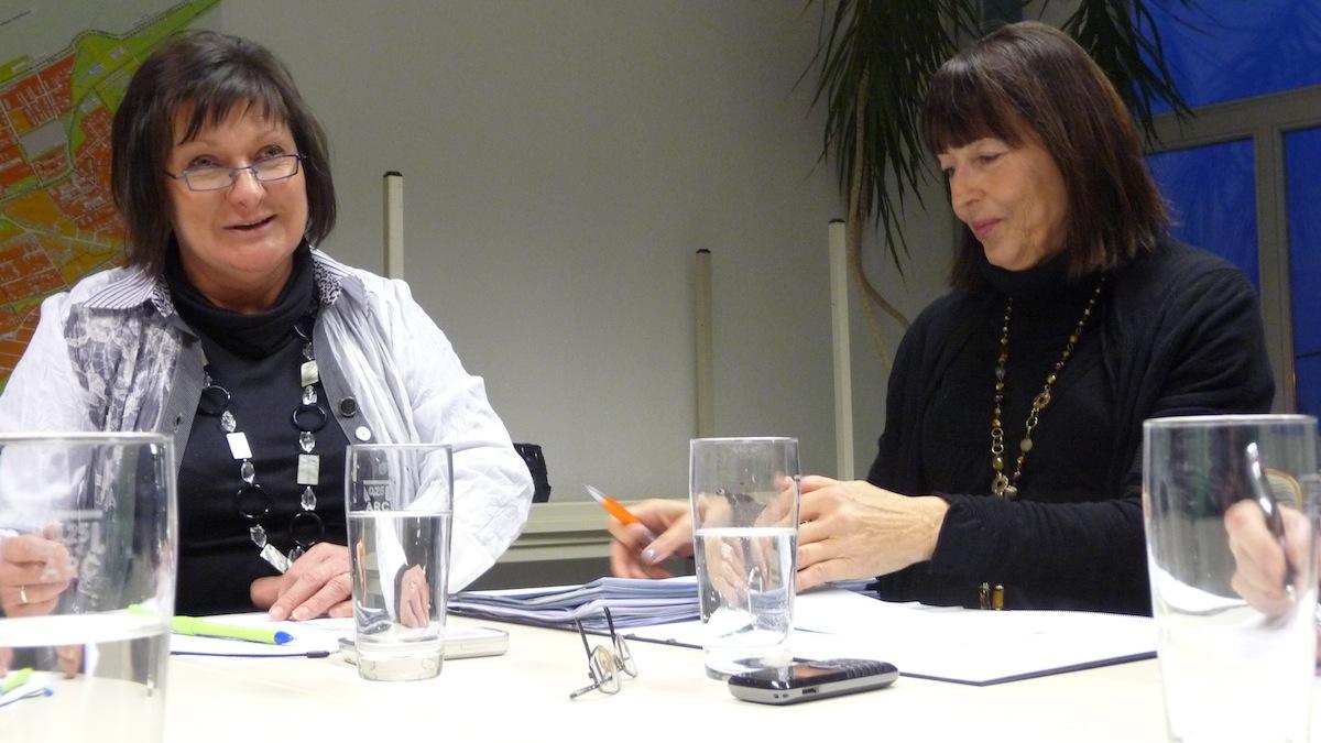 Stadträtin Birgit Schuster & Gisela Sparmberg