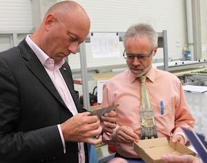 Kemmerich mit Geschäftsführer Reinhard Wecker