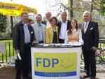 Vertreter der Erfurter FDP