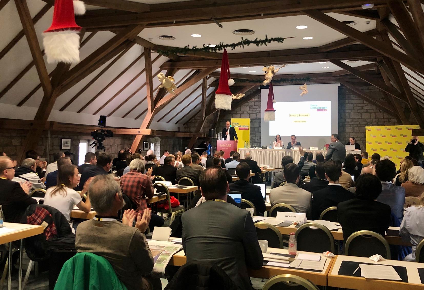 36. FDP Landesparteitag in Apolda