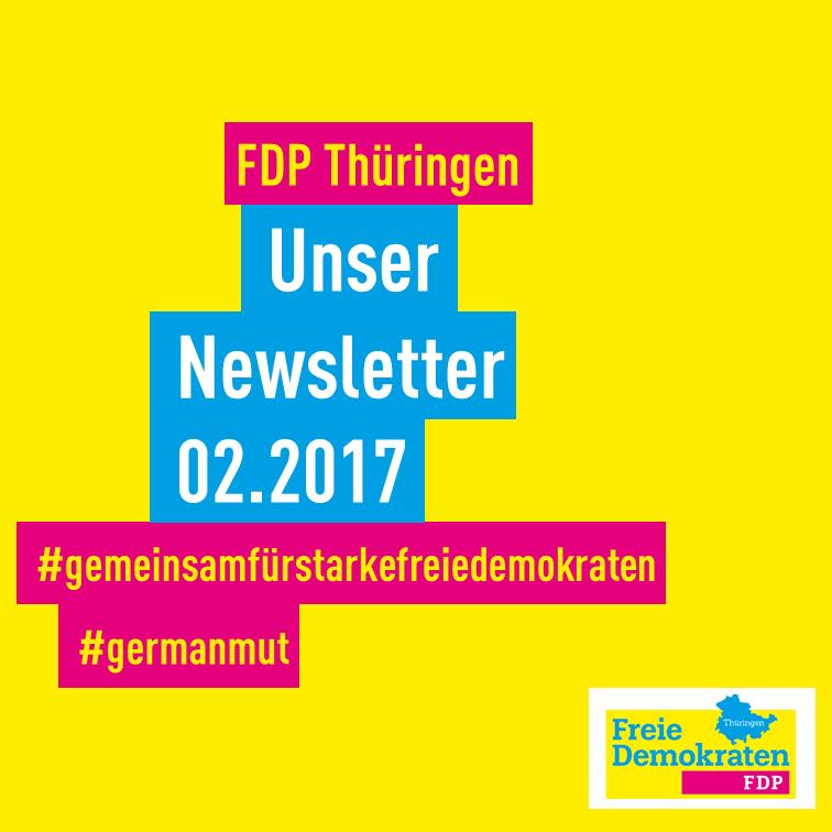 Gemeinsam für starke Freie Demokraten in Thüringen