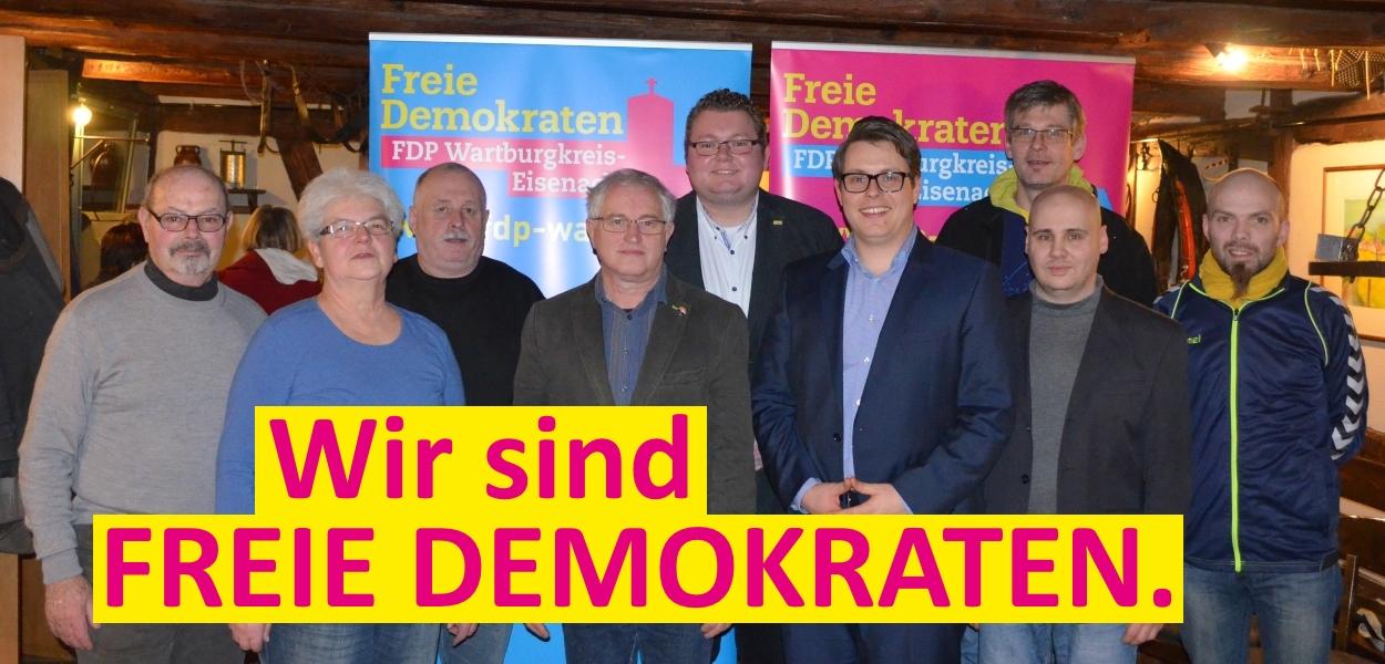 Der neue Vorstand des KV Wartburgkreis-Eisenach