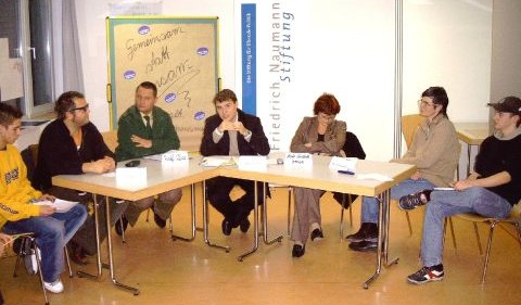 Podiumsdiskussion in Weimar