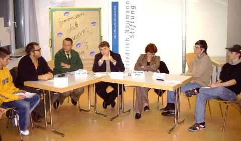 Podiumsdiskussion in Weimar