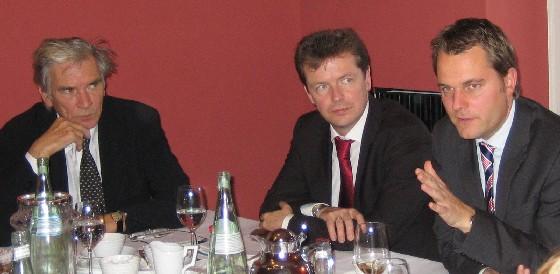 Konrad Schily, Uwe Barth, Daniel Bahr