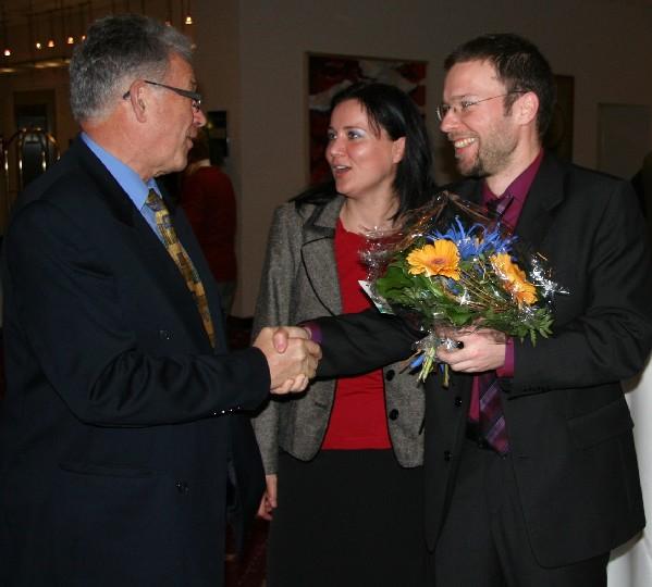 Glückwünsche an Peter Röhlinger
