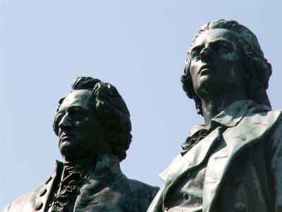 Nur eine Sehenswürdigkeit - Goethe und Schiller