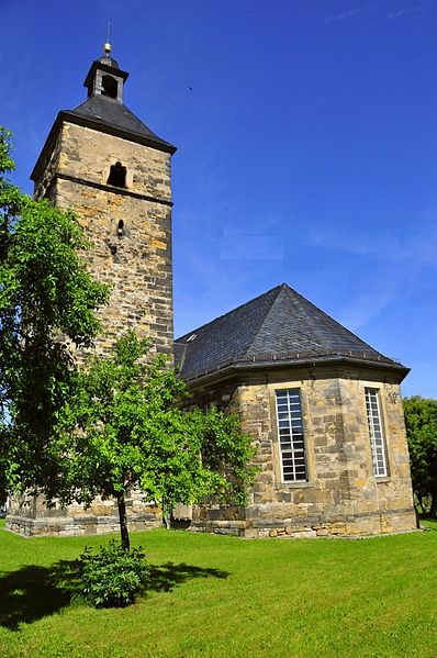 Kirche in Leina/ Bildrechte creativecommons