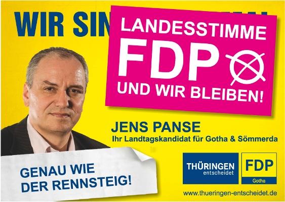 Gothaer Liberale rufen zur Wahl auf