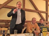 Dirk Bergner war der Hauptredner des Abends