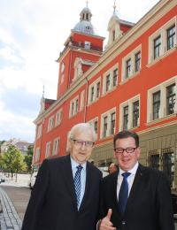 Rainer Brüderle zu Besuch in Gotha