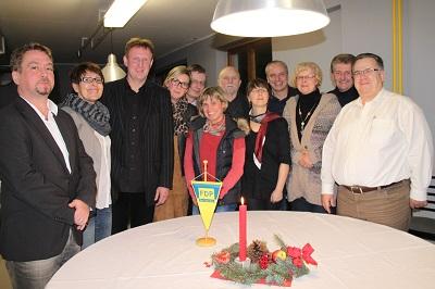 Die neugewählten Delegierten des Kreisverbandes