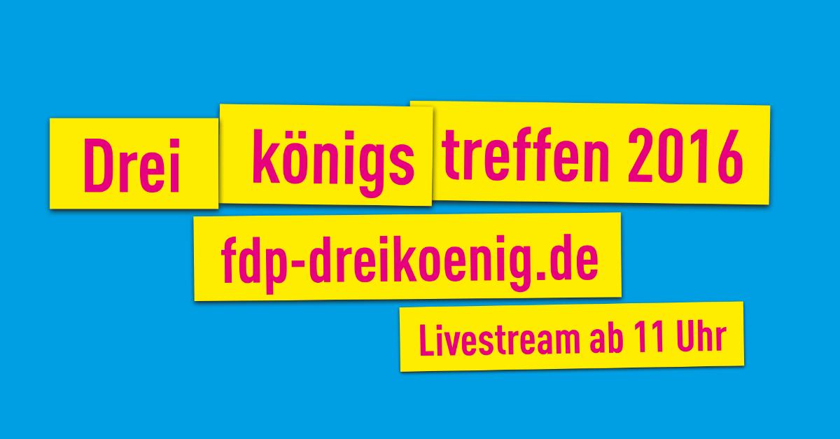 Dreikönigstreffen in Stuttgart und Heiligenstadt