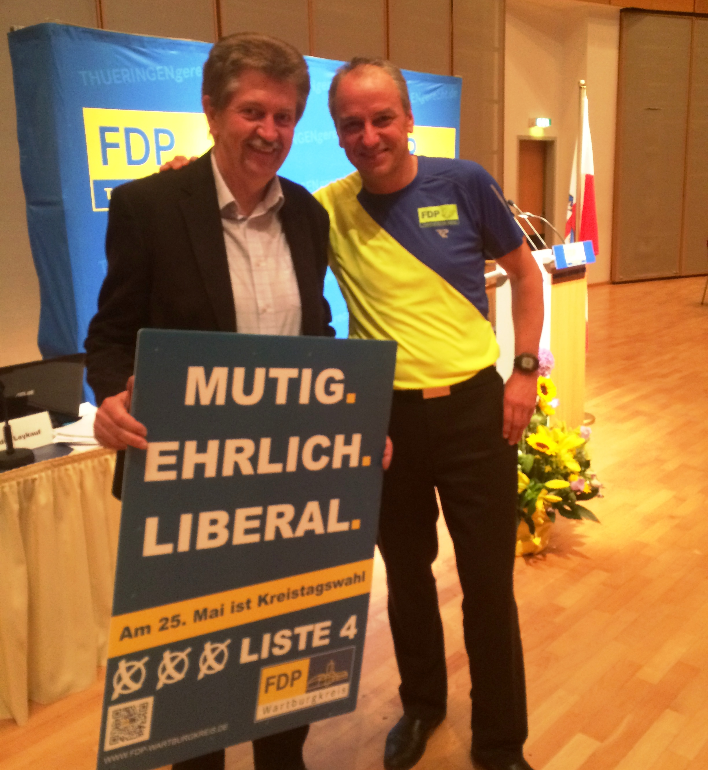 Jürgen Ehrlich und Jens Panse