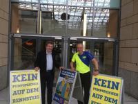 Jürgen Ehrlich und Jens Panse in Suhl