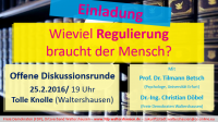 Diskussionsrunde in Waltershausen