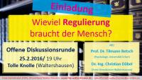 Diskussionsrunde in Waltershausen