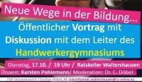 Die FDP Walterhausen lädt ein