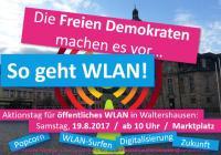 Eonladung zum Aktionstag in Waltershausen