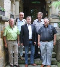 Uwe Barth traf sich mit Mandatsträgern in Gotha