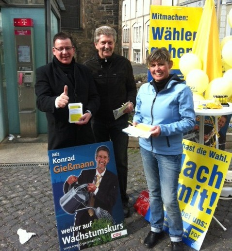Wahlkämpfer Köhler-Hohlfeld, Ehrlich, Ziegenbalg