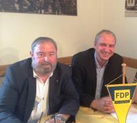 Heinz Untermann und Jens Panse in Dachwig
