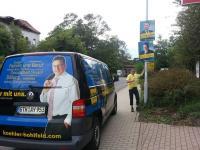 Wahlkampfstart in Gotha