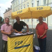 Liberale Kommunalpolitiker informierten in Gotha