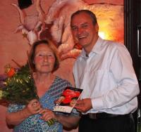 Jens Panse dankte Susanne Jirschim für die Lesung