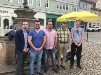 Wahlkampfabschluss der Liberalen in Waltershausen