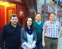 Die ersten vier Listenkandidaten in Waltershausen