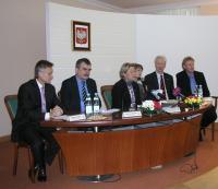 Pressegespräch in Kielce