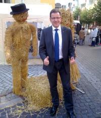 Torsten Köhler-Hohlfeld beim Landeserntedankfest