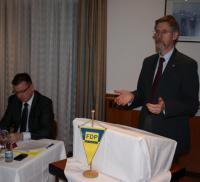 Landrat Konrad Gießmann warb um Unterstützung