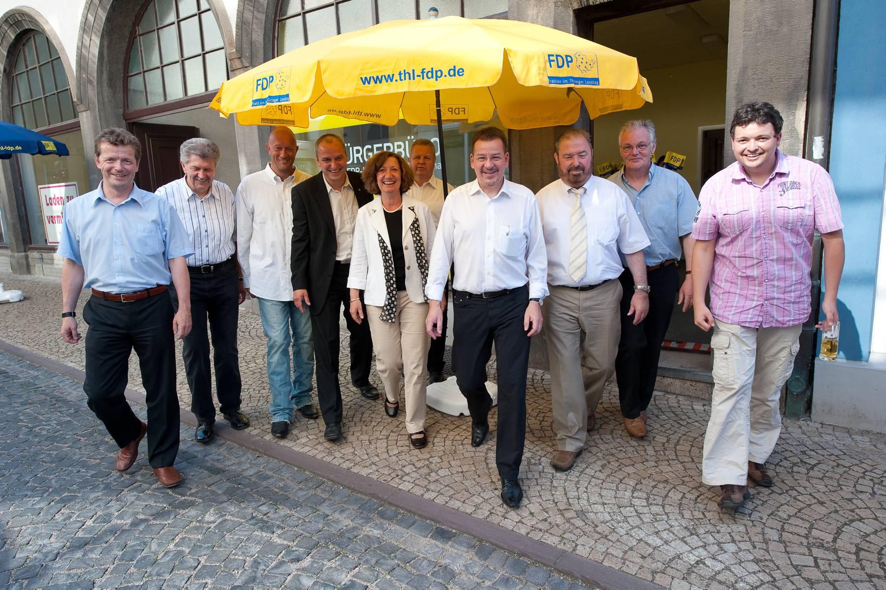 FDP zieht von der Pfortenstraße an den Hauptmarkt