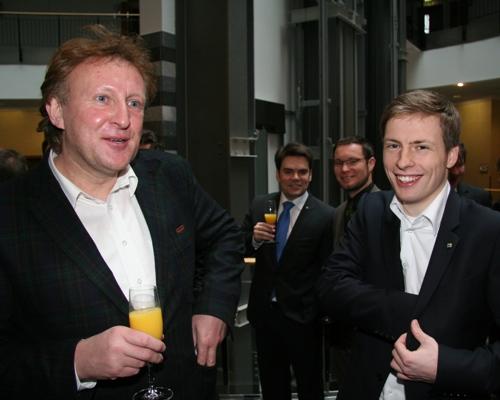 Mike Wündsch und Paul Gellner