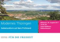 Veranstaltungseinladung der FNSt