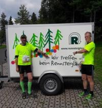 Martin Mölders mit seinem Begleiter Michael Kohl
