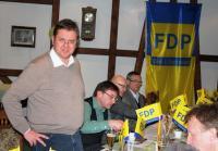 Ortsvorsitzender Rene Geißdorf begrüßte die Gäste