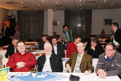 Mitglieder des Ortsverbandes Friedrichroda