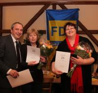 Jens Panse mit Ute Freytag und Ilka John