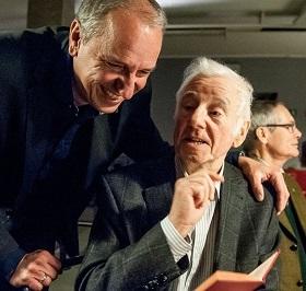 Knut Ortlepp mit dem Kreisvorsitzenden Jens Panse