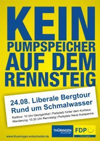 Liberale Bergtour am 24. August