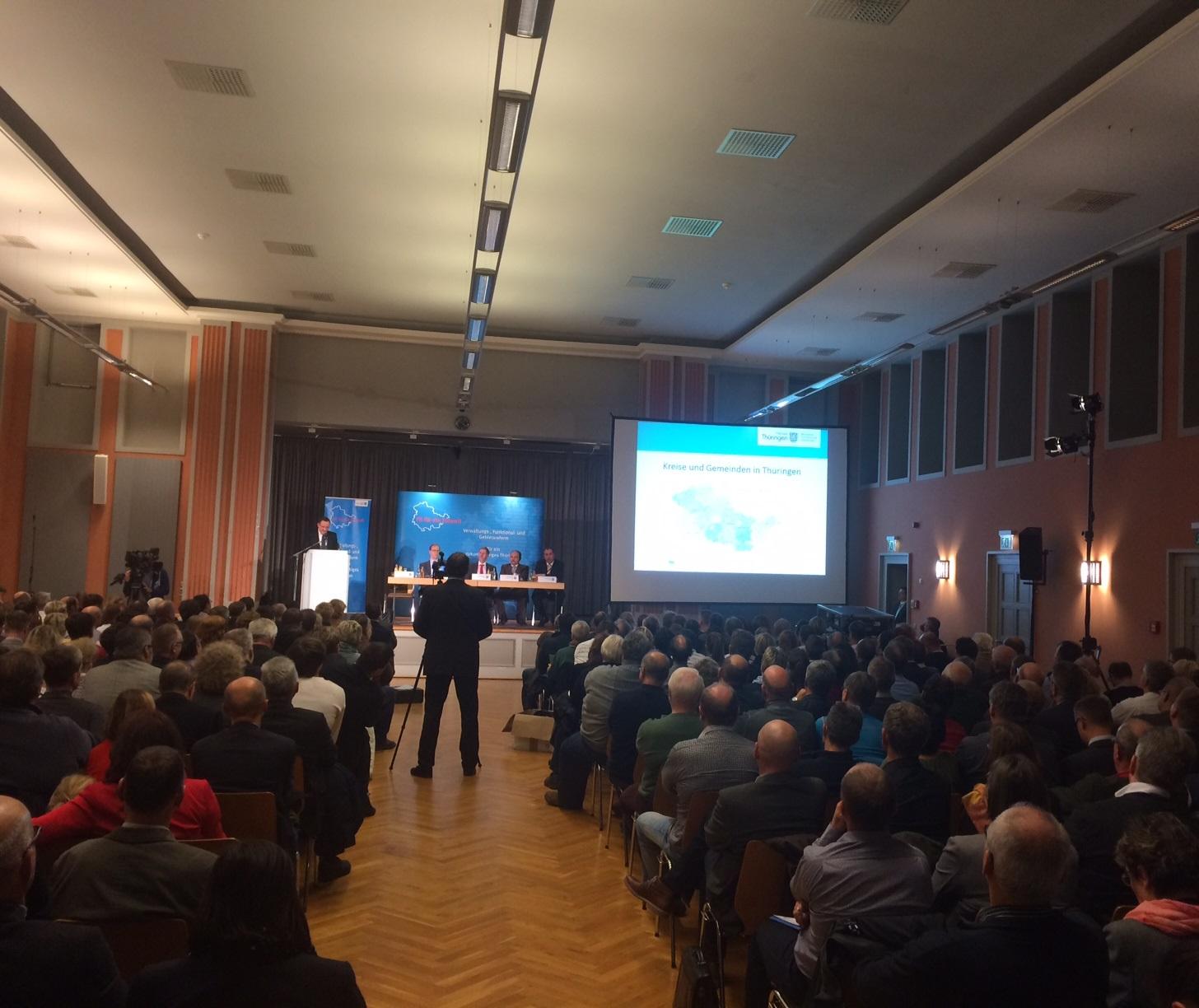 Regionalkonferenz in Gotha nur ein Feigenblatt