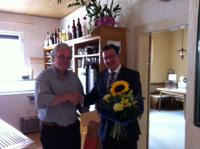 Reinhard Cornelius feiert 60. Geburtstag
