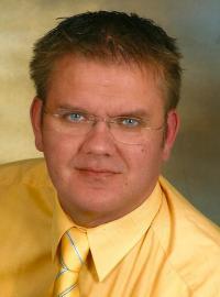 Ortsvorsitzender René Geißdorf